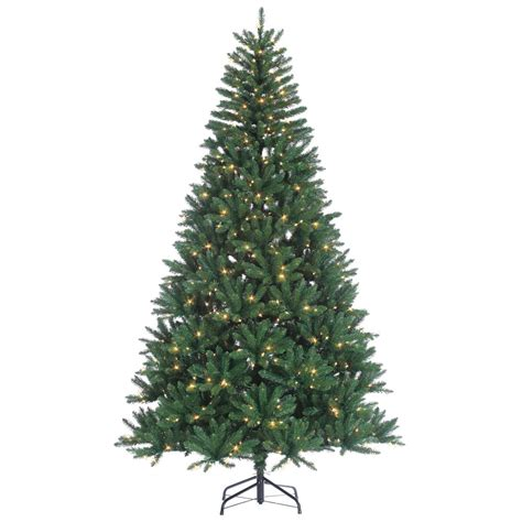 sterling 8 ft indoor pre lit hudson pine artificial