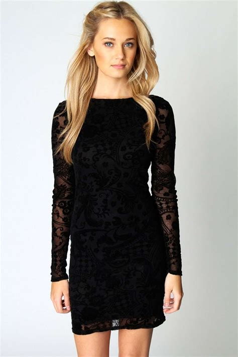 black christmas party dress dresscab