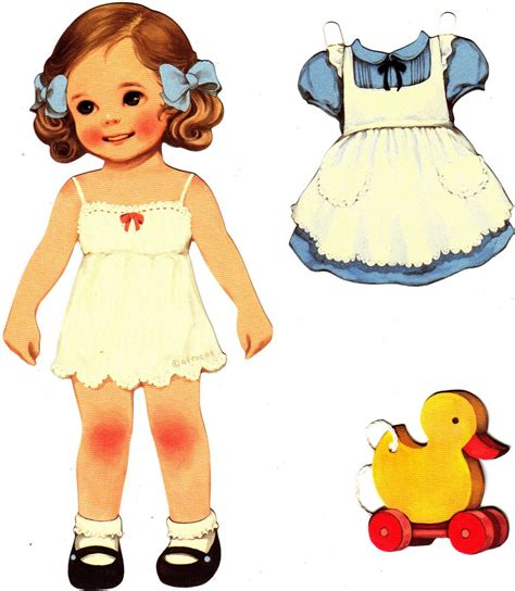 Doll With Paper - paper dolls paper dolls vintage paper