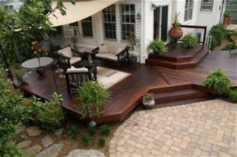 deck to patio transition pinterest the world s catalog of ideas