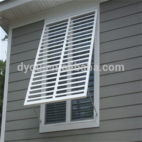 Exterior Plantation Shutters High Quality Durable Aluminum Exterior Plantation Shutters