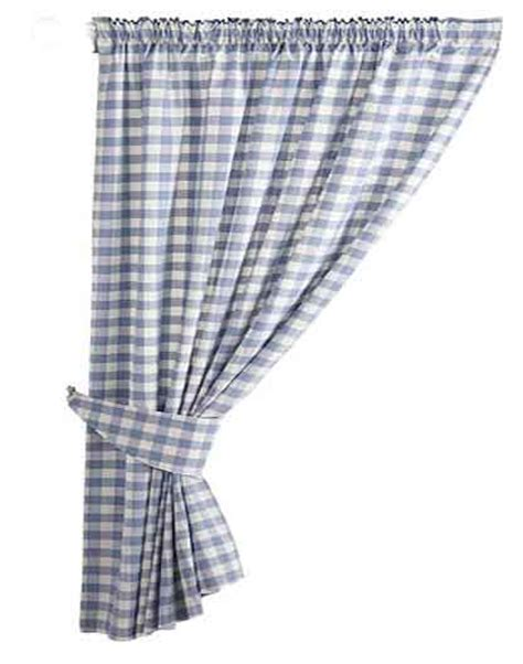 blue gingham curtains blue gingham country kitchen curtains