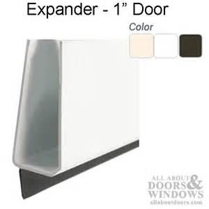 larson single spline door sweep expander for 1 inch thick