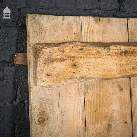 Pine Barn Door Rustic Ledged Pine Barn Door