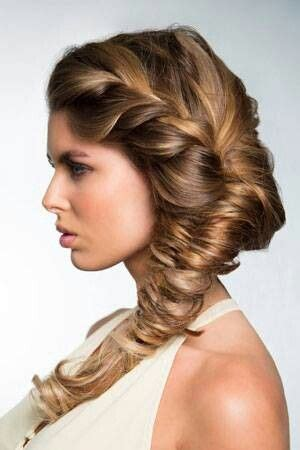 history of fishtail braid loose french braid flowing into a fishtail braid casual
