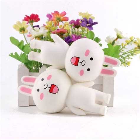 Rabbit Bun Squishy squishy rabbit bun bunny jumbo 14cm rising with packaging collection gift decor alex nld
