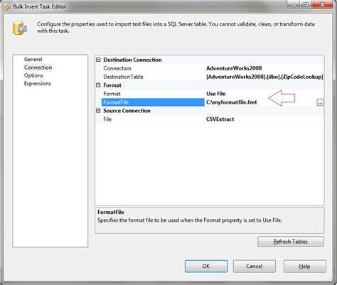 Format File Sql Server | download bulk insert using format file sql server 2005