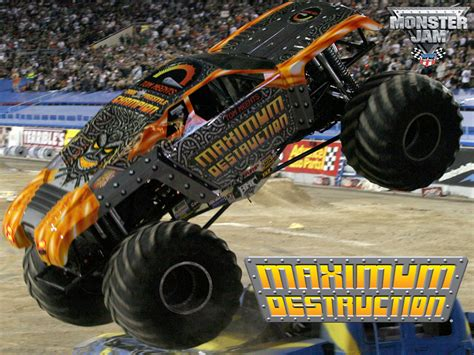 maximum destruction monster truck videos monster truck destruction for iphone users g style magazine