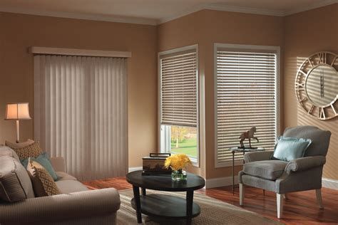 Living Room Window Treatment Ideas Vertical Blinds Drapery Connection