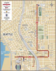 Seattle Streetcar Map by Seattle Streetcar
