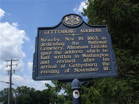 lincoln pa address gettysburg address gettysburg pa abraham lincoln on