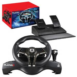Steering Wheels That Work With Ps4 Playmax Hurricane Steering Wheel For Ps4 And Ps3 Ps3 Ps4