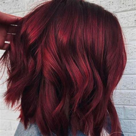 Koper Bellezza capelli rosso vin brul 233 la tendenza pi 249 cool per le