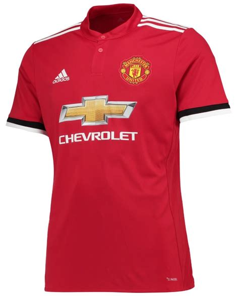 Mu Home New Season 1718 new manchester united home shirt 2017 2018 by adidas