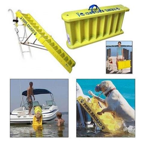 boat ladder portable dog ladder for boat boarding r stairs climb aboard