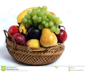 how to make a fruit basket fruit basket side view royalty free stock image image 4925136