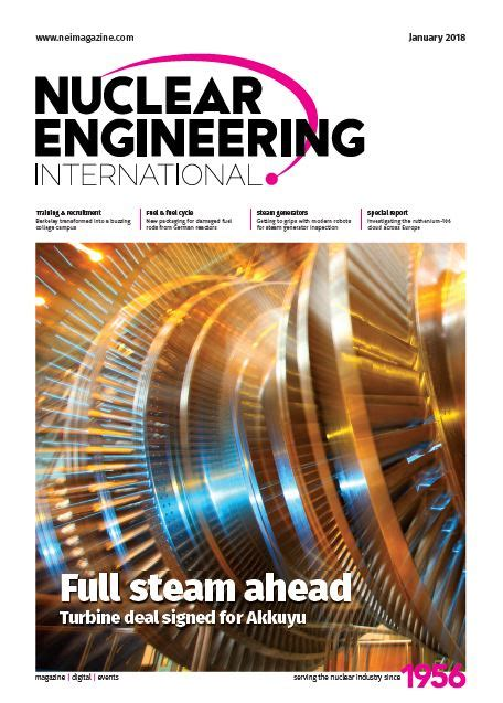 nuclear design journal nuclear engineering international 24 month print