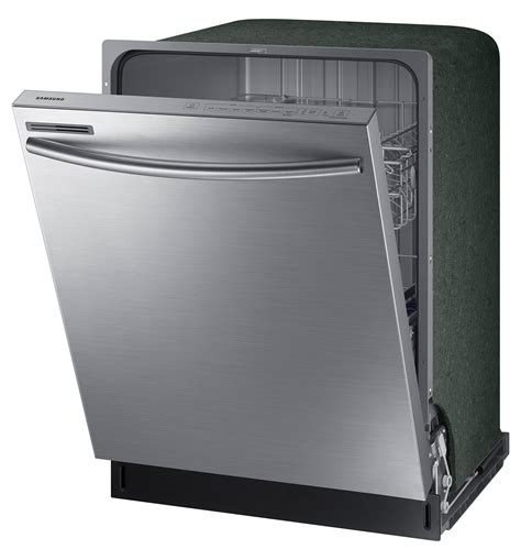 samsung stainless steel 24 quot dishwasher dw80m2020us ac s