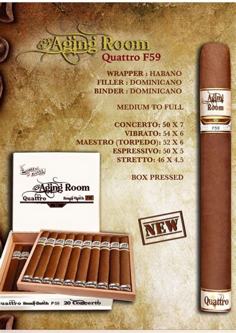 aging room cigars cigar news aging room ffortissimo m19 by boutique blends cigars