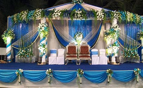 a wedding planner wedding stage decorations and
