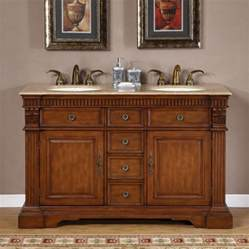 55 inch furniture style sink bathroom vanity uvsr018155