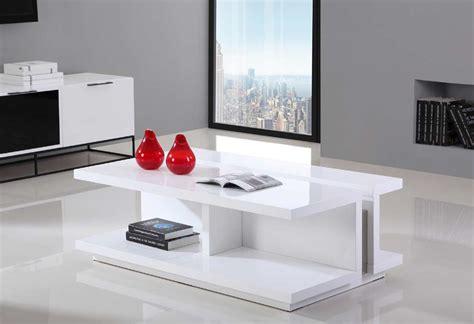 high gloss white coffee table bm  contemporary