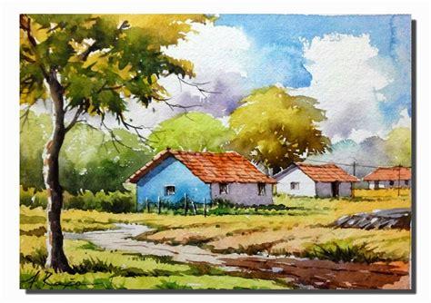 Landscape Artists Watercolor Watercolor Paintings Watercolor Landscape