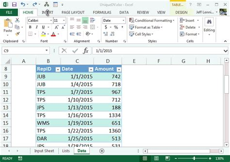 excel vba set cell data validation how to set a default