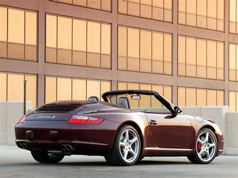 porsche 911 convertible 2005 porsche 911 carrera s cabriolet 997 specs 2005 2006
