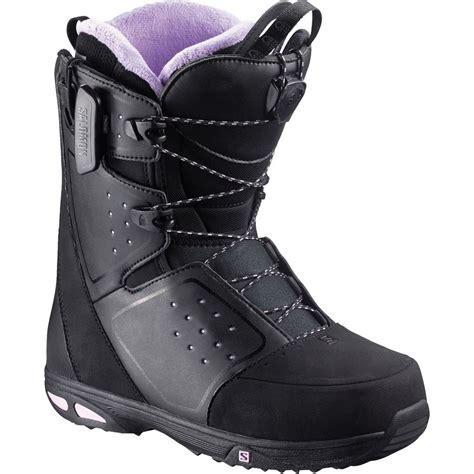 salomon snowboards moxie str8jkt snowboard boot s