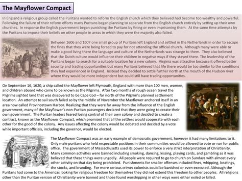 Mayflower Compact Essay by Mayflower Compact Essay Bibliographysetup X Fc2