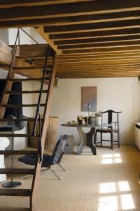 attic stairs search design and staircases crop land jutland denmark this small cabin takes inspiration