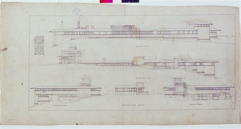 Floor Plans With Pictures frank lloyd wright s taliesin turns 100 pbs newshour