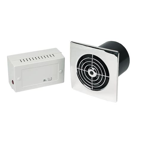 Low Voltage Fans Bathrooms by Manrose Lp100slvc Lo Profile 4 Extractor Fan Slimline