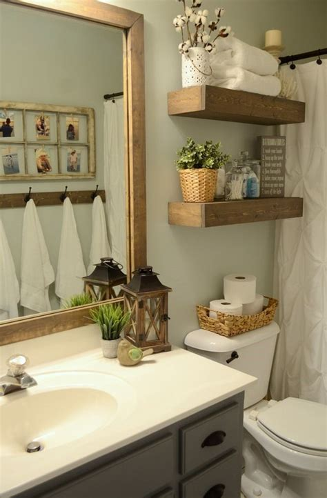 guest bathroom ideas decor hallway bathroom makeover with only 100 for the 100 room challenge love this paint color