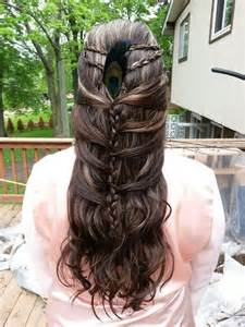 scottish hairstyles scottish braids feather renaissance faire pinterest