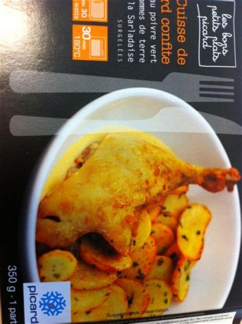 picard plats cuisin駸 moi et picard mes exp 233 riences gustatives la cuisine