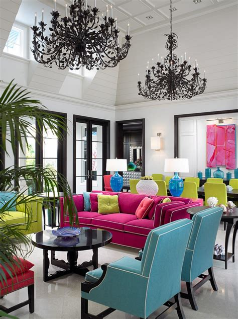 colorful living room decor 20 living room color ideas designs design trends