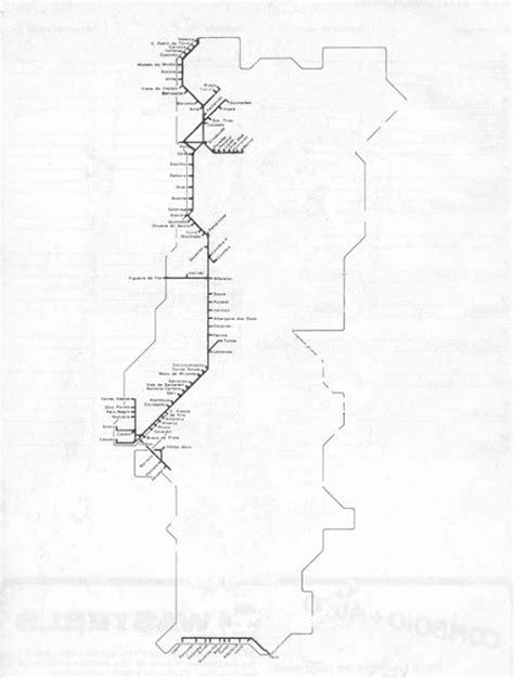 A Nossa Terrinha: O mapa da ferrovia portuguesa urbana e