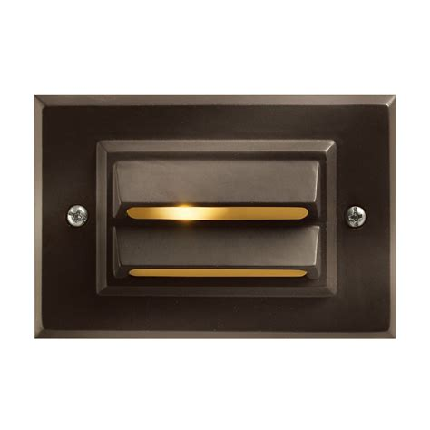 step light fixtures horizontal recessed deck and step light 1546bz