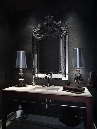baroque bathroom 25 gorgeous powder rooms that can amaze anybody digsdigs