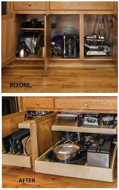 Kitchen Cabinet Space Saving Ideas 25 Best Ideas About Organizing Kitchen Cabinets On Pinterest Kitchen Cabinet Cleaning
