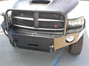 dodge ram winch bumper 2003 2005 aluminess