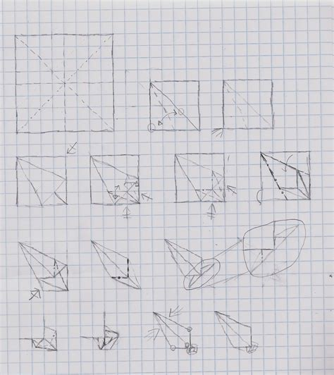 How To Make Origami Kunai - kunai tutorial sketch by heyro0 on deviantart
