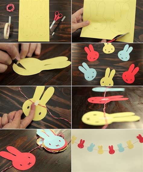 Paper Craft For Home Decoration - 12 diy easter home decorating ideas simple yet