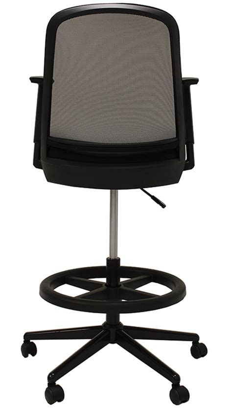 Mesh Drafting Stool by Mesh Back Drafting Stool 22 Quot 31 Quot Seat Height