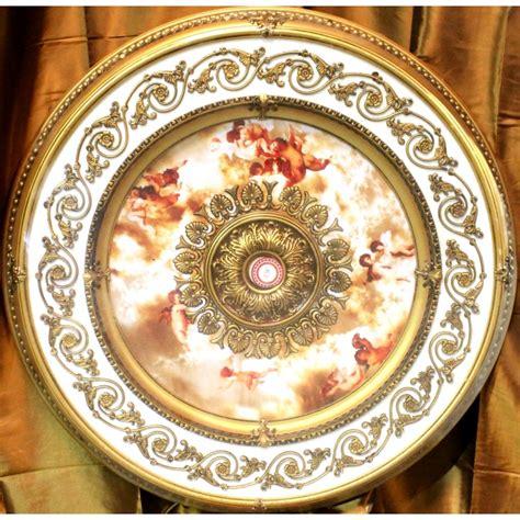 michelangelo ceiling medallion 43 inch