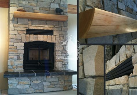 Fireplace Work by Vancouver Chimney Fireplace Company Lions View Chimney
