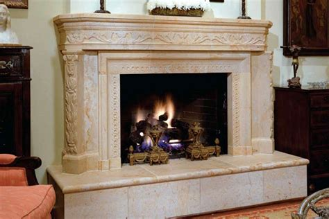 custom fireplaces materials marketing