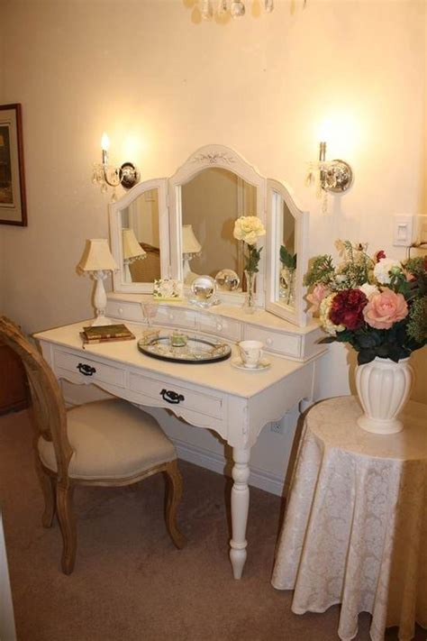 vanity table with mirror and lights simple white small wooden antique vanity table design with